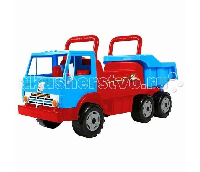 Каталки R-Toys Самосвал Intercooler rt ор211 каталка самосвал маг с кузовом 6 колёс зеленая
