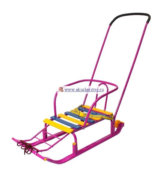 Зимние товары , Санки R-Toys Считалочка Семерка арт: 39599 -  Санки