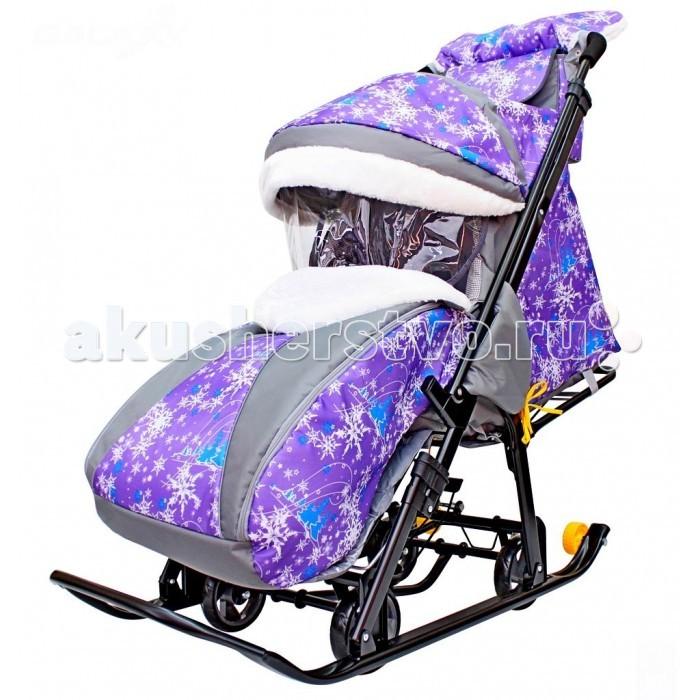 Зимние товары , Санки-коляски R-Toys Snow Galaxy Luxe арт: 221344 -  Санки-коляски