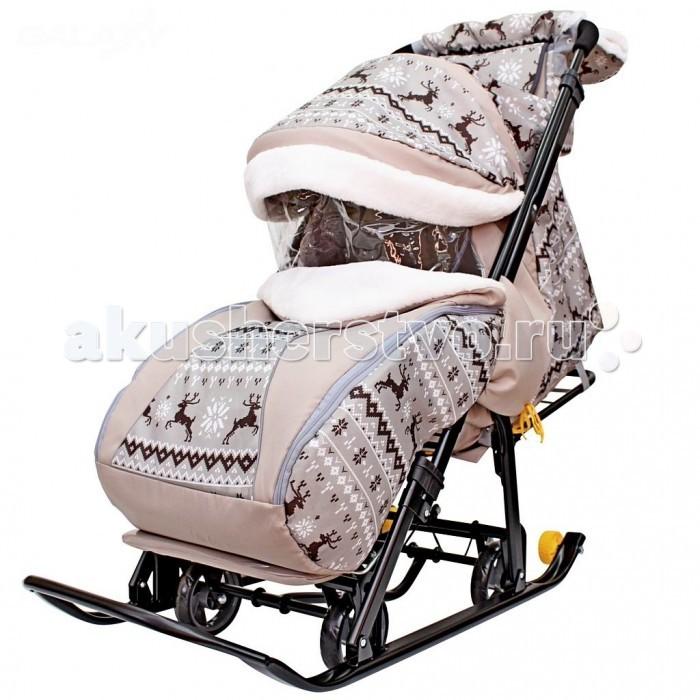 Купить со скидкой Санки-коляска R-Toys Snow Galaxy Luxe