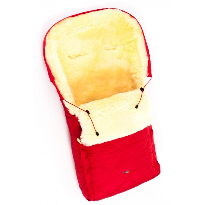 Зимний конверт Ramili Classic в коляскуClassic в коляскуДетский меховой конверт в коляску и на выписку Ramili Classic изготовлен из высококлассной натуральной овчинки медицинского предназначения. Длина конверта (95 см.) подходит для любой коляски-люльки или прогулочной коляски. Оснащен одной молнией и раскладывается на два автономных коврика.   Овчинка специальной выделки, в которой отсутствуют вредные вещества и тяжелые металлы гипоаллергенна, отлично сохраняет тепло, обеспечивает циркуляцию воздуха внутри изделия. Детский конверт может использоваться с самого рождения, например, для выписки из роддома.  Модель Classic оснащена дополнительной защитой молний, верхняя часть конверта собирается в капюшон. Конверт расширен области головы, чем обеспечивается дополнительная защита от холода и «сквозняков».   Верхняя часть детского мехового конверта Ramili Classic изготовлена из влагоотталкивающей ткани, которая при этом хорошо пропускает воздух и обеспечивает его микроциркуляцию. Длина меха 3 см., невытянутая. Используется высококачественная, удобная в обращении фурнитура и деревянные пуговицы  Особенности:  Выверенные размеры конверта (45х95 см) позволяют легко уместить его в любой коляску-люльке, прогулочной коляске или в детском автокресле. В качестве утеплителя используется высококачественная натуральная овчинка, выделанная по специальной технологии для медицинских целей. «Дышащая» ткань внешнего покрытия в сочетании с натуральной овчиной обеспечивают отличную циркуляцию воздуха внутри конверта на микро-уровне. Благодаря этому в конверте Ramili Classic ребенок не вспотеет. Конечно, если вы не будете использовать одежду из не продуваемых синтетических материалов. Детский конверт можно использовать с самого рождения, например, для выписки из роддома. Конверт изготовлен по классической выкройке. Меховой конверт оснащен дополнительной защитой молний от «сквозняков». Детский конверт оснащен специально подготовленными областями для ремней безопасности коляски или автокресл