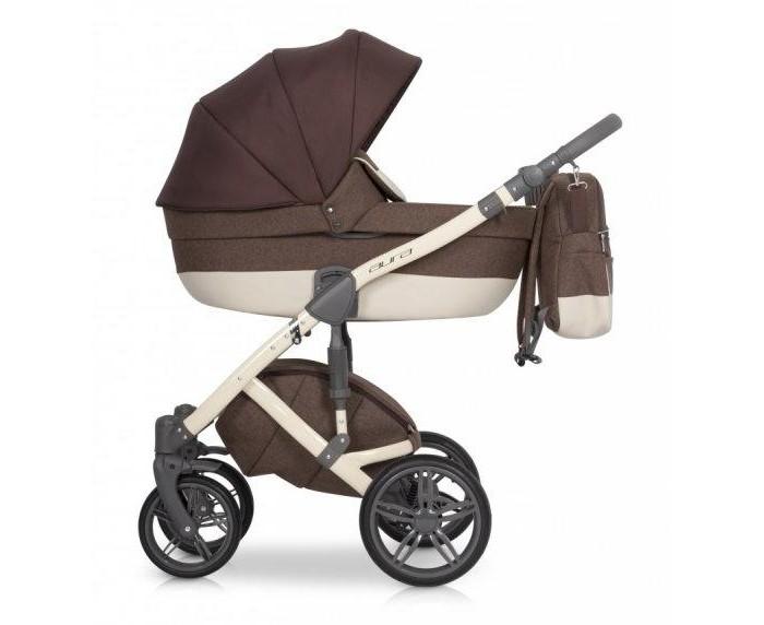 Коляска Rant Aura 3 в 1Коляски 3 в 1<br>Коляска Рант Aura 3 в 1 для новорожденного малыша.   Она едет по любой дороге, отлично справляется с препятствиями, проезжает по узким дорожкам парка. Люлька глубокая, ее можно использовать в качестве переносной колыбельки. Полная комплектация позволяет эксплуатировать коляску в холодное и теплое время года.  Особенности:  Шасси: высокая рама 4 надувных колеса с подшипниками передние колеса плавающие задние колеса по диаметру больше, чем передние на задних колесах расположены пружинные регулируемые амортизаторы дополнительная амортизация на раме тормоз центральный, ножного типа ручка регулируется по высоте внизу расположена корзина для покупок Люлька: пластиковый каркас высокие бортики регулируемый подголовник большой складной капор с интегрированной ручкой для переноски одна секция со встроенной москитной сеткой комплектация матрасиком  внутренняя обивка сделана из хлопка, снимается для стирки в комплект входит чехол на ножки с высоким ветровиком Автокресло: вкладыш для новорожденного наличие трехточечных ремней безопасности большой капор со смотровым окошком перекидная ручка для переноски соответствует европейскому стандарту ECE R44/04 Прогулочный блок устанавливается в обоих направлениях 4 положения наклона спинки, в том числе горизонтальное комплектация вкладышем наличие пятиточечных ремней с накладками и бампера для безопасности ребенка регулируемая подножка большой складной капор Комплектация: шасси люлька прогулочный блок автокресло москитная сетка дождевик сумка корзина для покупок подстаканник чехлы на ножки для обоих блоков