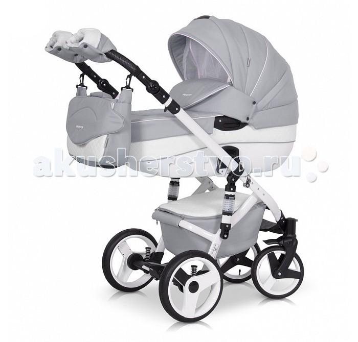 Коляска Рант Orion 3 в 1Orion 3 в 1Коляска Рант Orion 3 в 1 стильный и современный дизайн оценит каждый покупатель.  Модная, удобная коляска обеспечит вашему ребенку идеальные условия для длительных прогулок и долгого полноценного сна на свежем воздухе. Малыш будет комфортно себя чувствовать в просторной люльке, а сиденье для подросшего ребенка предоставит наилучшие условия для изучения окружающего мира.  Коляски на алюминиевой раме отличается от других видов: хорошей проходимостью за счет надувных колес и легкого хода. Амортизация колес позволяет с легкостью преодолевать любые препятствия, при этом сохраняется мягкий хода, обеспечивая спокойный сон вашего карапуза.  Коляска Orion 3 в 1 укомплектована прогулочным блоком и просторной и комфортной люлькой, которые устанавливаются на раму как по ходу, так и против хода движения, т.е. «лицом к маме». Производители умело соединили: перфорированную Эко кожу и ткань для производства колясок. Оснастив люльку москитными шторками, которые очень интересно в писались в дизайн коляски.  Особенности:  Люлька: Просторная пластиковая люлька с жестким дном. Верхняя часть из водонепроницаемой ткани с элементами из перфорированной Эко кожи. Не продуваемые борта Регулируемый по высоте подголовник Удобная ручка, расположенная на капюшоне для переноски, обтянута кожей Бесшумный механизм регулировки капюшона Капюшон с открывающейся на молнии секцией, со встроенной москитной сеткой для вентиляции Высокий отворот на накидке на люльку защитит новорожденного от непогоды. Внутренняя вкладка выполнена из 100% хлопка, легко снимается для стирки Матрасик для новорожденного. Возможность установки люльки в 2 положениях (лицом к маме, или лицом по направлению движения коляски). Уникальные москитные шторки. Размеры внутренние люльки: Длина: 80 см Ширина: 37 см Высота: 22 см Вес: 5.11 кг Прогулочный блок: Четыре положения регулировки спинки, вплоть до горизонтального Регулируемая подножка Регулируемый капюшон Пятиточечные ремни безопасности с мягкими 