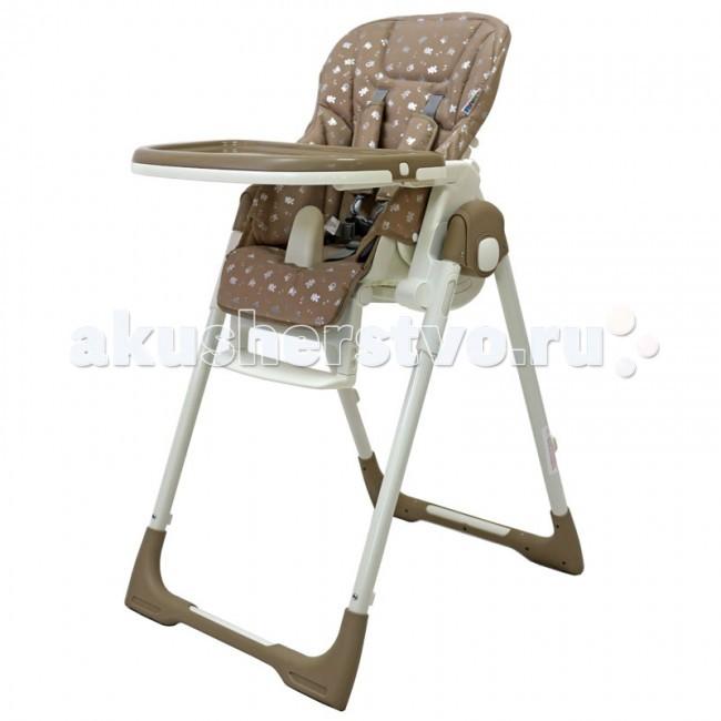 Стульчик для кормления Рант CrystalCrystalСтульчик для кормления Рант Crystal  - удобный, многофункциональный и практичный стульчик, предназначенный для детей с 0 и до 3-х лет. Он легко трансформируется в шезлонг, поэтому его можно использовать с рождения, а в возрасте 6 месяцев малыш сможет кушать сидя в этом стульчике. Спинка сидения имеет несколько уровней наклона. От положения «лежа» до положения «сидя».   Если малыш устал и задремал во время кормления, можно легко, не разбудив его, опустить спинку сидения в положение лежа. Сиденье стульчика регулируется по высоте, обеспечивая быстрорастущему малышу удобство и комфорт. Когда ваш малыш подрастет, он будет счастлив сидеть на этом стульчике за одним столом вместе со взрослыми. Для этого вам всего лишь надо будет снять столешницу.   Стульчик можно использовать как для кормления, так и для веселых игр, если расположить на подносе любимые игрушки ребенка.   Съемный чехол сиденья изготовлен из высококачественной ламинированной ткани с водоотталкивающим покрытием.   Съемная столешница регулируется в 3-х положениях и имеет съемный поднос. Надежные ремни безопасности и анатомический разделитель для ножек, предотвратят вероятность выпадения ребенка из стульчика.   Для удобства столешницу можно установить на задней опоре стульчика для компактного и удобного хранения. Нажатием кнопки стульчик легко складывается до компактных размеров.   Особенности: угол наклона спинки регулируется в 5-ти положениях (в том числе до горизонтального);  6 уровней сиденья по высоте;  двойная, съемная столешница регулируется в 3-х положениях;  съемный чехол сиденья изготовлен из высококачественной ламинированной ткани с водоотталкивающим покрытием (облегчает уход и чистку);  регулируемая подножка по высоте и наклону;  разделитель для ножек;  5-ти точечные ремни безопасности с плечевыми накладками из ламинированной ткани;  2 скрытых колеса с мягким покрытием (не царапают пол);  для удобства хранения столешницу можно установить на задней опоре стул