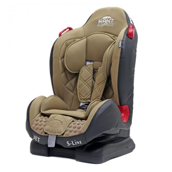Автокресло Рант JetJetАвтокресло Рант Jet предназначено для детей весом от 9 до 25 килограмм (от 9 месяцев до 7 лет).  Особенности: Rant Jet – модель имеет съемный пятиточечный ремень безопасности с мягкими плечевыми накладками и антискользящими нашивками.  Rant Jet – это удобная, комфортная модель с хорошим уровнем безопасности. Внутренние 5-точечные ремни безопасности с мягкими плечевыми накладками надежно удерживают малыша в автокресле. Ремни интегрированы в подголовник, регулируются по высоте одновременно с поднятием подголовника. Имеют центральную систему натяжения и прочный, практичный замок.  Сиденье увеличенной ширины сделает более комфортной поездки уже подросшего ребенка.  Угол наклона спинки регулируется в 3-х положениях.  Для самых маленьких пассажиров предусмотрен мягкий съёмный вкладыш. Чехол автокресла изготовлен из качественной, высокопрочной, гипоаллергенной ткани. Легко снимается для чистки или стирки. Автокресло устанавливается по направлению движения, с помощью штатного ремня безопасности автомобиля. Ребёнок удерживается в кресле внутренними 5-точечными ремнями безопасности (до 18 кг) или штатным ремнём безопасности (от 18 кг). Автокресло имеет усиленную боковую защиту.  Корпус из ударопрочного пластика гарантируют защиту при боковых и фронтальных столкновениях.  Пятиточечные ремни безопасности с мягкими плечевыми накладками надежно зафиксируют малыша в автокресле.  Прочный и практичный замок фиксации ремней безопасности надежно удержит малыша при резких торможениях и толчках. Автокресло Jet сертифицировано и соответствует требованиям Европейского стандарта качества и безопасности ECE R44-04.<br>