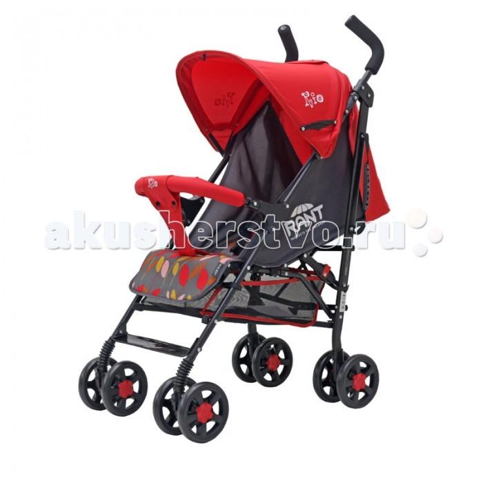 Прогулочная коляска Рант RioRioПрогулочная коляска Рант Rio предназначена для детей с 6 месяцев и до 3-х лет.  Легкая и комфортная коляска в стильном дизайне подходит для ежедневных прогулок с малышом на свежем воздухе, для дальних путешествий или шоппинга.  Особенности: алюминиевая облегченная рама увеличенный капюшон с окошком и карманом возможность регулировки наклона спинки, есть положение для сна пяти точечные ремни безопасности с мягкими плечевыми накладками ламинированная подножка регулируется для комфортного положения ребенка съемный передний поручень для безопасности малыша передние поворотные колеса на 360 градусов, с фиксатором для движения по прямой мягкие ручки фиксатор рамы. Комплектация: накидка на ножки корзина для покупок. Размеры и вес коляски Rant Rio: в сложенном виде (Ш&#215;Д&#215;В): 25 х 110 х 25 см.  в разложенном виде (Ш&#215;Д&#215;В): 53 х 70 х 110 см ширина колёсной базы: 70 см вес коляски: 6 кг.<br>