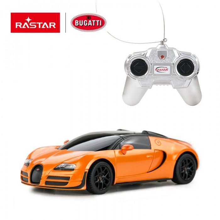 Фото - Радиоуправляемые игрушки Rastar Машина на радиоуправлении Bugatti Grand Sport Vitesse 1:24 гоночная машина rastar bugatti veyron grand sport vitesse 53900 1 18 черный