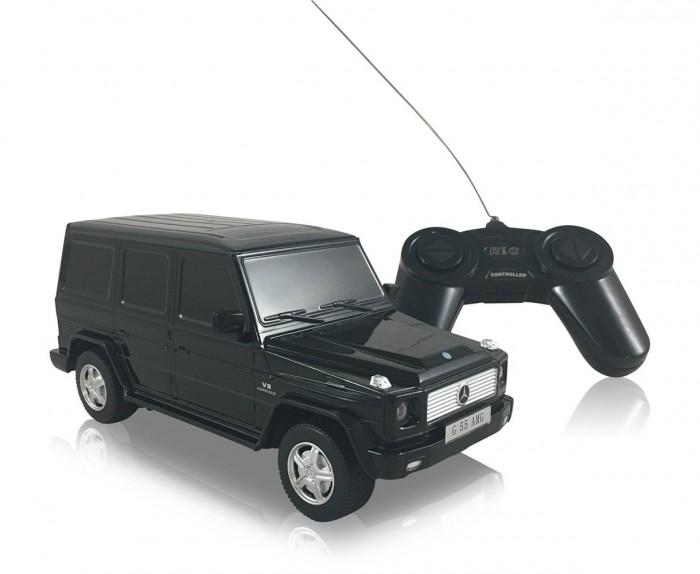 Машины Rastar Машина на радиоуправлении Mercedes-Benz G55 1:24 машина р у rastar range rover sport 2013 1 24 цвет в ассорт в кор в кор 18шт