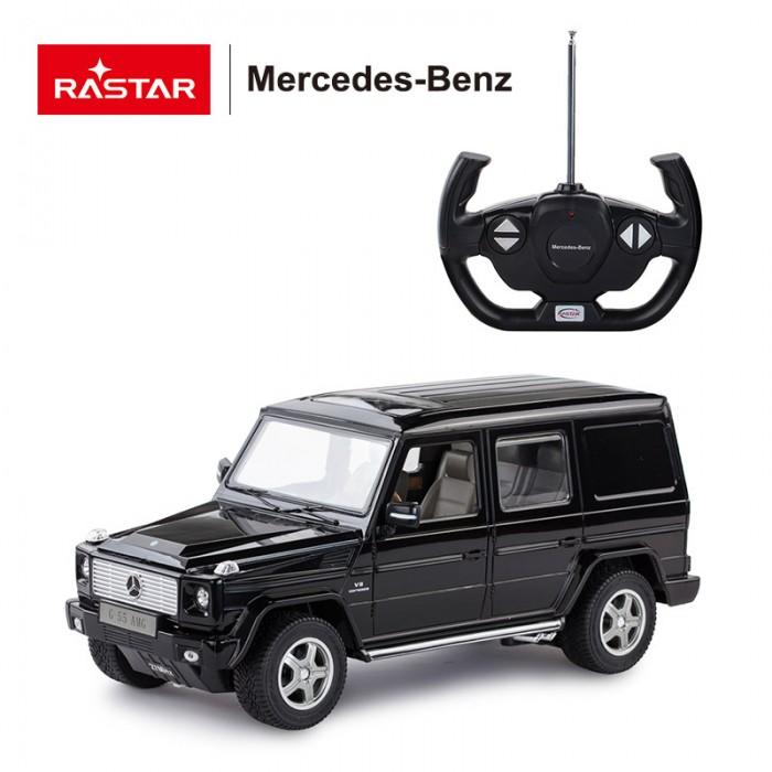 Машины Rastar Машина на радиоуправлении Mercedes G55 AMG 1:14 машины rastar машина на радиоуправлении mercedes benz slr 1 12