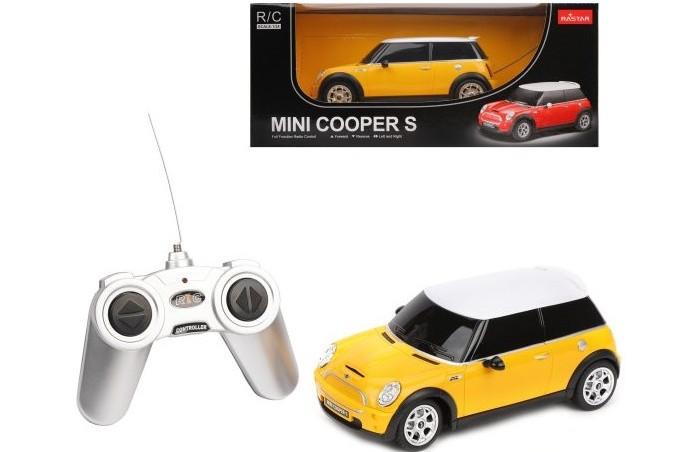 Радиоуправляемые игрушки, Rastar Машина р/у Mini Cooper 1:24  - купить со скидкой