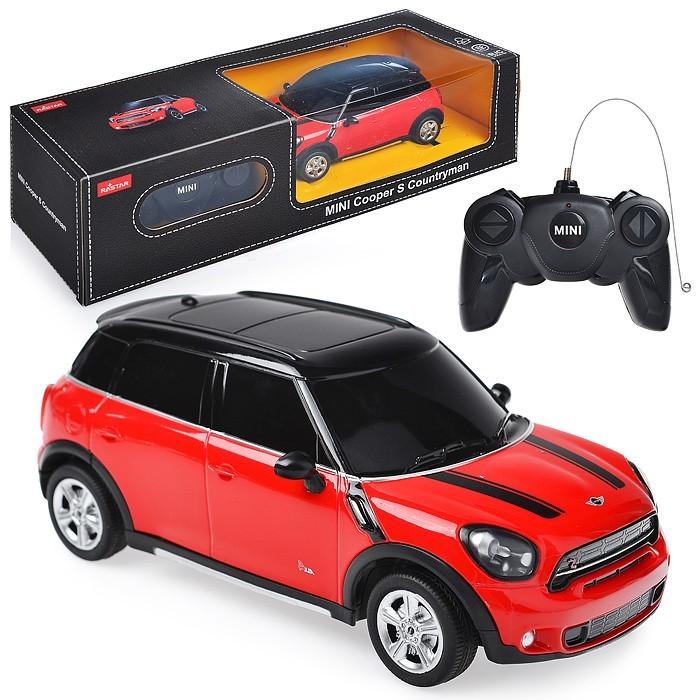 Купить Радиоуправляемые игрушки, Rastar Машина р/у Mini Cooper S Countryman 1:24