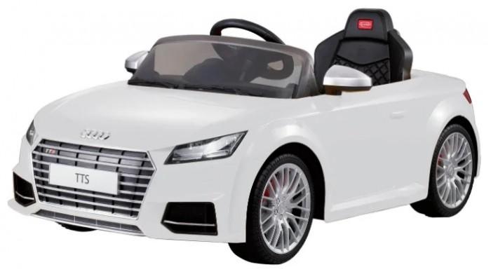 Электромобиль Rastar Audi R8Audi R8Электромобиль Rastar Audi R8 с пультом дистанционного управления, станет отличным подарком, как для ребенка, так и для взрослого коллекционера или почитателя этой марки автомобилей. Совокупность необычной, но очень стильной внешности и потрясающих ходовых качеств машины делает ее по-настоящему удивительной и оригинальной!  Каждому юному гонщику обязательно нужен свой собственный автомобиль. Он выполнен точь - в - точь как настоящий. Это точная копия настоящего автомобиля Audi R8. Имея такую игрушку, малыш будет гордиться машиной, почувствует себя юным водителем как папа или как мама. В нем все как у оригинальной машины - светятся фары, складываются зеркала, руль с сигналом, ветровое стекло… Электромобиль может ехать вперед-назад, руль поворачивается вправо - влево. И даже имеется разъем (вход) для МР3 плеера, 10 детских песен. Корпус - полипропилен усиленный, закаленный, противоударный - прочен и долговечен. Не останется ни одной царапины, потому что экологически чистая краска проникает глубоко внутрь корпуса. Можете не бояться царапин.  Особенности:  Максимальная нагрузка - 25 кг Широкое и комфортабельное сиденье Светятся фары, складываются зеркала, руль с сигналом, ветровое стекло Может ехать вперед-назад, руль поворачивается вправо - влево Имеется разъем (вход) для МР3 плеера, 10 детских песен Работает как от пульта, так и от запасного переключателя Эргономика сиденья: 10 баллов Развивает скорость: 3 - 4 км/ч Радиус действия пульта: до 30 метров Время работы: 1 - 1.5 часа Реалистичные подобные оригиналу сплав колес. Стальное шасси  В комплекте:  Пульт радиоуправления Зарядное устройство 220В Аккумуляторная батарея 6 V -7 АH Мотор 25 Вт<br>