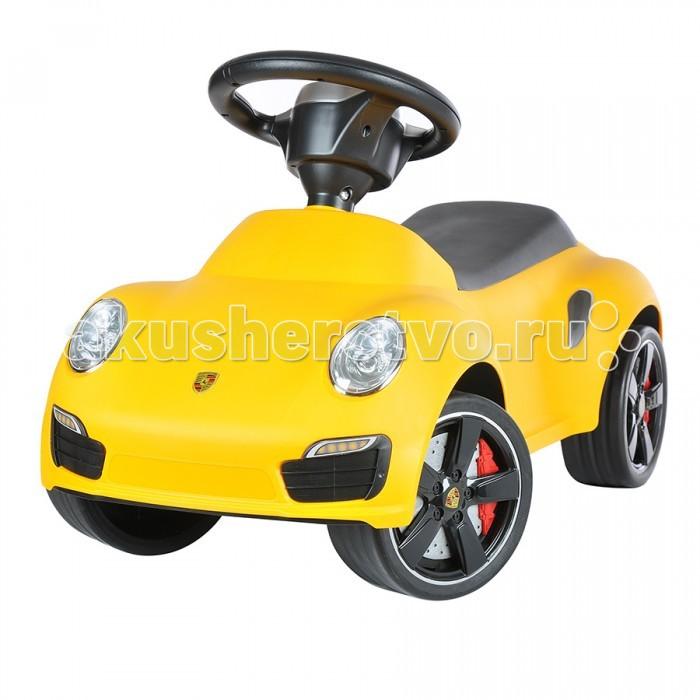 Каталка Rastar 16 Porsche 91116 Porsche 911Каталка Rastar 16 Porsche 911 создана для маленького гонщика. Машина выглядит совсем как настоящий автомобиль благодаря тому, что выполнена по образу знаменитого Porsche.   Фирменный эмблемы на руле и капоте обязательно порадуют Вашего ребёнка.  Колеса имеют резиновые накладки, которые улучшают сцепление с поверхностью и делают езду тихой, мягкой и безопасной для вашего напольного покрытия.<br>