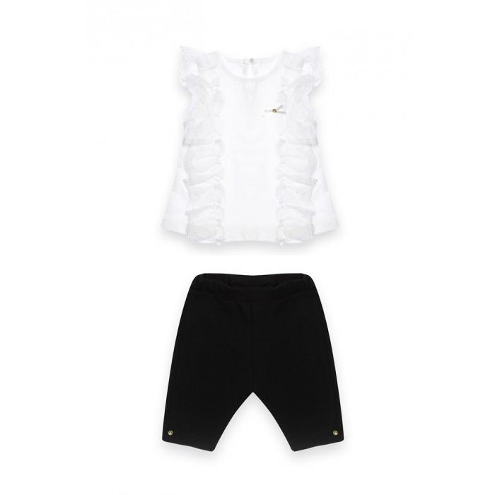 RBC Костюм 2-ка для девочки (блузка без рукавов и капри) МЛ472502