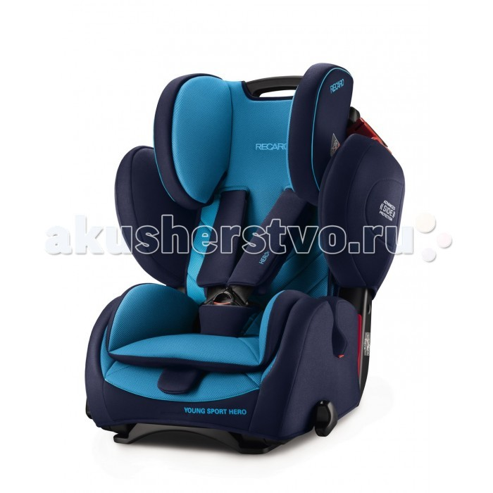 Фото - Группа 1-2-3 (от 9 до 36 кг) Recaro Young Sport Hero автокресло группа 1 2 3 9 36 кг recaro young sport hero carbon black