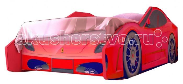 Детская кроватка Red-River машина Феррари Эконом