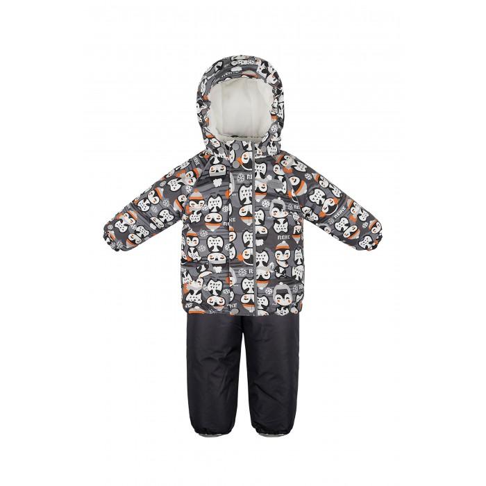Reike Комплект куртка и полукомбинезон ПингвинчикиЗимние комбинезоны и комплекты<br>Reike Комплект куртка и полукомбинезон Пингвинчики. Комплект детский Reike Penquins fuchsia состоит из куртки, декорированной принтом с симпатичными пингвинчиками, и однотонного полукомбинезона.  Комплект выполнен из ветрозащитной и водонепроницаемой дышащей мембранной ткани на хлопковом подкладе с комфортными велюровыми вставками на воротнике, в капюшоне и эластичных манжетах куртки. Куртка дополнена съемным капюшоном с забавными ушками, двумя карманами и множеством безопасных светоотражающих деталей. Резинка внизу куртки и ветрозащитная планка в виде рюши вдоль молнии не допускают проникновения холодного воздуха.  Эластичная талия полукомбинезона и регулируемые подтяжки гарантируют посадку по фигуре, длинная молния впереди облегчает процесс одевания. Полукомбинезон оснащен светоотражателем в виде логотипа Reike, боковыми карманами на молнии и съемными штрипками.  Коэффициент воздухопроницаемости комбинезона 2000гр/м2/24 ч. Водоотталкивающее покрытие: 2000 мм. Утеплитель: Polyfill, куртка - 280 гр., полукомбинезон - 140 гр. Состав: 100% полиэстер, подкладка: 100% хлопок.