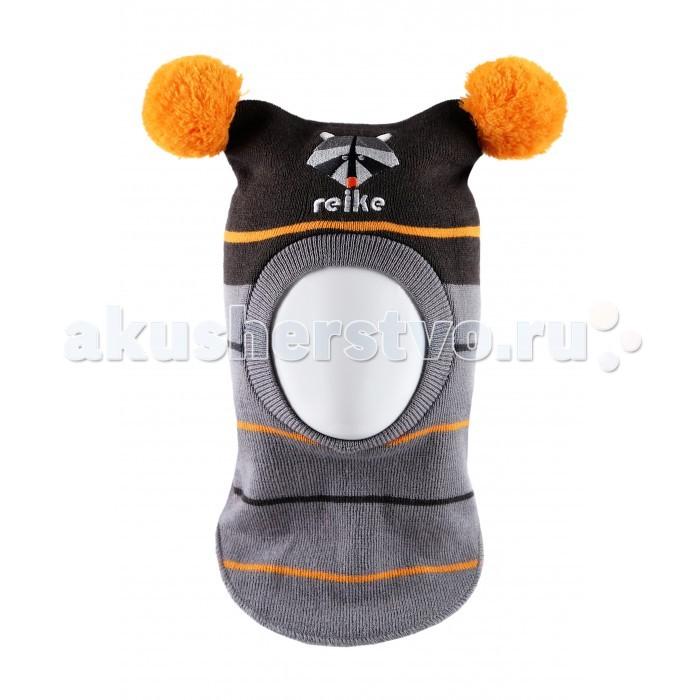 Детская одежда , Шапочки и чепчики Reike Шапка-шлем для мальчика Енот арт: 331175 -  Шапочки и чепчики