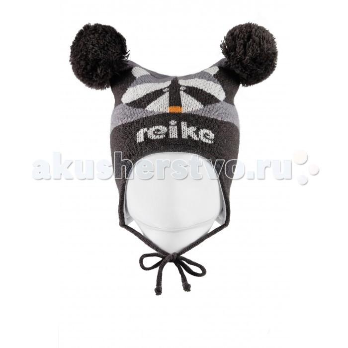 Детская одежда , Шапочки и чепчики Reike Шапка для мальчика Енот арт: 330875 -  Шапочки и чепчики