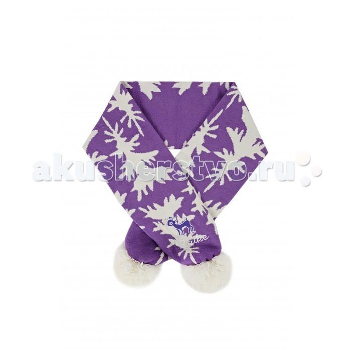 Детская одежда , Варежки, перчатки и шарфы Reike Шарф детский Оленёнок арт: 330695 -  Варежки, перчатки и шарфы