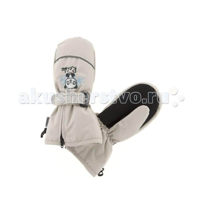 Детская одежда , Варежки, перчатки и шарфы Reike Варежки детские Панда на липучке арт: 330470 -  Варежки, перчатки и шарфы