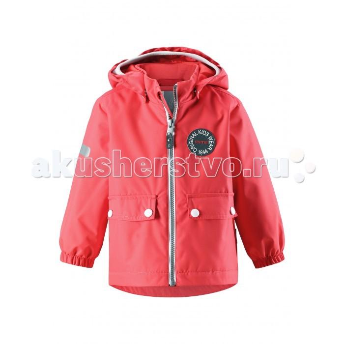 Reima Куртка демисезонная 511262RКуртка демисезонная 511262RReima Куртка демисезонная 511262R   Фасон этой очень популярной утепленной и непромокаемой куртки для малышей навеян мотивами дизайна Reima® 70-х. Самые важные швы в этой демисезонной куртке проклеены и водонепроницаемы, а сама она изготовлена из ветронепроницаемого, дышащего материала с водо- и грязеотталкивающей поверхностью. Гладкая подкладка из полиэстера поможет быстро одеться. Съемный капюшон не только защищает от пронизывающего ветра, но еще и безопасен во время игр на свежем воздухе. Большие карманы с клапанами и светоотражающие детали придают образу изюминку. Дополните ретро-образ симпатичными аксессуарами!  Основные швы проклеены и не пропускают влагу Водо и ветронепроницаемый, «дышащий» и грязеотталкивающий материал (Толщина слоя воды 8000 мм, Устойчивость к истиранию Прочный > 15000 циклов по Мартиндейлу) Гладкая подкладка из полиэстера Безопасный, съемный капюшон Эластичные манжеты Два кармана на кнопках Cветоотражающие детали   Состав: 100% Полиэстер, полиуретановое покрытие, подкладка - 100% полиэстер, утеплитель - 100% полиэстер 80 гр  Уход: Cтирать с бельем одинакового цвета. Застегнуть молнии и липучки. Стирать моющим средством, не содержащим отбеливающие вещества. Полоскать без специального средства. Во избежание изменения цвета изделие необходимо вынуть из стиральной машинки незамедлительно после окончания программы стирки. Сушить при низкой температуре.<br>