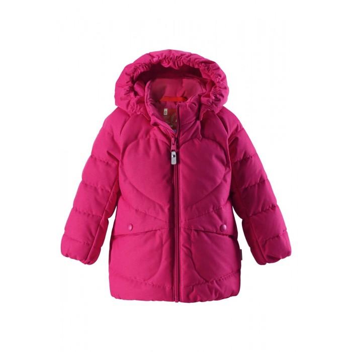 Reima Куртка зимняя 511260Куртка зимняя 511260Reima Куртка зимняя 511260 для малышей.  Особенности: крой для девочек гладкая подкладка из полиэстра в качестве утеплителя использованы пух и перо (60%/40%) безопасный, съемный капюшон два боковых кармана светоотражающие детали от -10 -30<br>