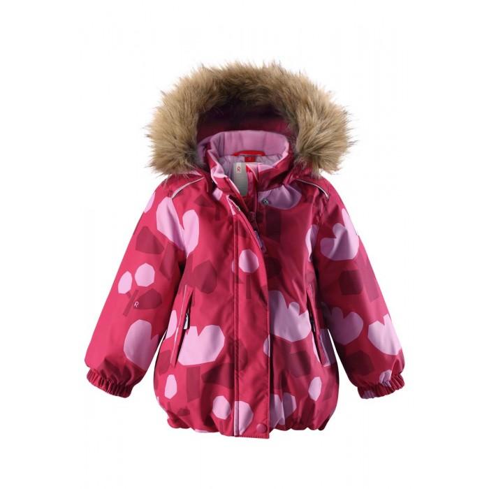 Reima Куртка зимняя 511256BКуртка зимняя 511256BReima Куртка зимняя 511256B для малышей.  Особенности: все швы проклеены и водонепроницаемы водо- и ветронепроницаемый, «дышащий» и грязеотталкивающий материал гладкая подкладка из полиэстра безопасный съемный капюшон с отсоединяемой меховой каймой из искусственного меха эластичные манжеты регулируемый подол два кармана на молнии светоотражающие детали от 0 -20 Стирать по отдельности, вывернув наизнанку. Перед стиркой отстегните искусственный мех. Застегнуть молнии и липучки. Стирать моющим средством, не содержащим отбеливающие вещества. Полоскать без специального средства. Во избежание изменения цвета изделие необходимо вынуть из стиральной машинки незамедлительно после окончания программы стирки. Можно сушить в сушильном шкафу или центрифуге (макс. 40 °C).  Вес утеплителя: 160 г<br>