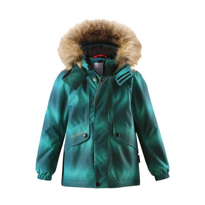 Reima Куртка зимняя 521515FКуртка зимняя 521515FReima Куртка зимняя 521515F для детей.  Особенности: все швы проклеены и водонепроницаемы водо- и ветронепроницаемый, «дышащий» и грязеотталкивающий материал гладкая подкладка из полиэстра безопасный отстегивающийся и регулируемый капюшон с отсоединяемой меховой каймой из искусственного меха эластичные манжеты регулируемый подол внутренний нагрудный карман два кармана с клапанами карман с кнопками для сенсора ReimaGO® светоотражающие детали от 0 -20 Стирать по отдельности, вывернув наизнанку. Перед стиркой отстегните искусственный мех. Застегнуть молнии и липучки. Стирать моющим средством, не содержащим отбеливающие вещества. Полоскать без специального средства. Во избежание изменения цвета изделие необходимо вынуть из стиральной машинки незамедлительно после окончания программы стирки. Можно сушить в сушильном шкафу или центрифуге (макс. 40 °C).  Вес утеплителя: 160 г<br>