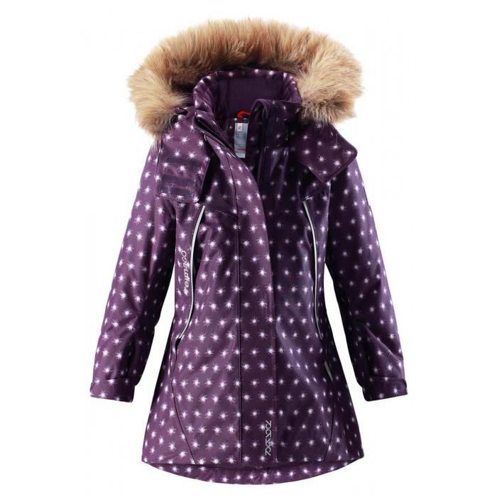 Reima Куртка зимняя 521516Куртка зимняя 521516Reima Куртка зимняя 521516 для детей.   Особенности: все швы проклеены и водонепроницаемы водо- и ветронепроницаемый, «дышащий» и грязеотталкивающий материал крой для девочек гладкая подкладка из полиэстра безопасный отстегивающийся и регулируемый капюшон с отсоединяемой меховой каймой из искусственного меха регулируемые манжеты и подол внутренний нагрудный карман два кармана на молнии карман с кнопками для сенсора ReimaGO® светоотражающие детали от 0 -20 Стирать по отдельности, вывернув наизнанку. Перед стиркой отстегните искусственный мех. Застегнуть молнии и липучки. Стирать моющим средством, не содержащим отбеливающие вещества. Полоскать без специального средства. Во избежание изменения цвета изделие необходимо вынуть из стиральной машинки незамедлительно после окончания программы стирки. Можно сушить в сушильном шкафу или центрифуге (макс. 40 °C).  Вес утеплителя: 160 г<br>