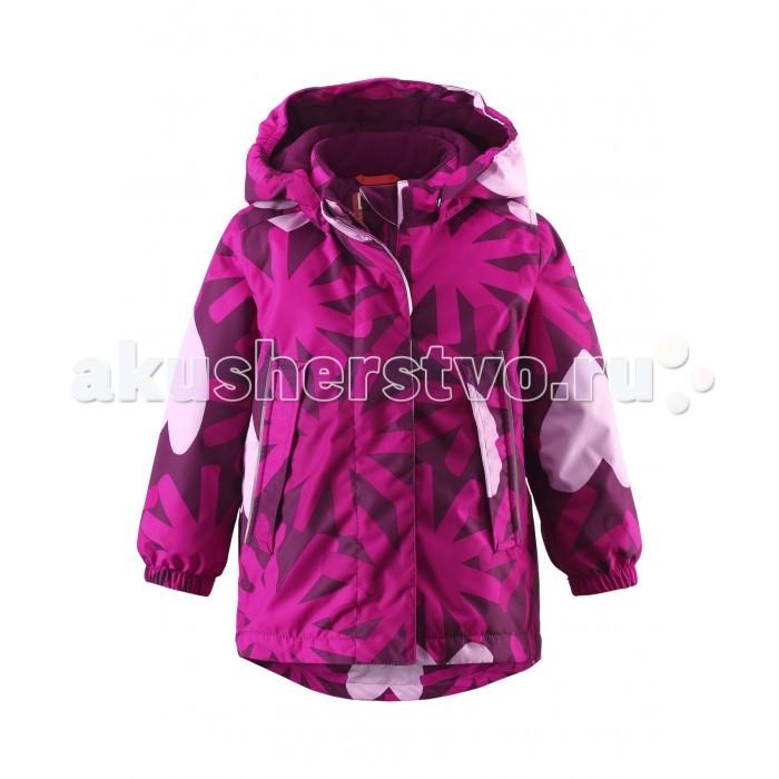 Reima Зимняя куртка MisteliЗимняя куртка MisteliЗимняя куртка для маленьких детей сшита из ветронепроницаемого, пропускающего воздух материала, который отталкивает грязь и влагу. Чтобы дожди не смогли помешать зимнему веселью, внешние швы проклеены для водонепроницаемости.  Куртка с подкладкой из гладкого полиэстера легко надевается и удобно носится с тёплым промежуточным слоем. Благодаря обеспечивающим видимость светоотражателям в форме сердечек, маленькие принцессы могут получать удовольствие от весёлой прогулки даже после захода солнца.  Характеристики: Зимняя куртка для малышей Основные швы проклеены и не пропускают влагу Водо- и ветронепроницаемый, дышащий и грязеотталкивающий материал Крой для девочек Гладкая подкладка из полиэстра Безопасный, съемный капюшон Эластичные манжеты Регулировка сзади Трапециевидная форма с удлиненным сзади подолом Безопасные светоотражающие детали Два прорезных кармана Температурный режим до -20 градусов  Состав: Верх - 100% Полиамид, полиуретановое покрытие, подкладка - 100% полиэстер, утеплитель - синтетический 160г.  Уход: Стирать по отдельности, вывернув наизнанку. Застегнуть молнии и липучки. Стирать моющим средством, не содержащим отбеливающие вещества. Полоскать без специального средства. Во избежание изменения цвета изделие необходимо вынуть из стиральной машинки незамедлительно после окончания программы стирки. Сушить при низкой температуре.<br>