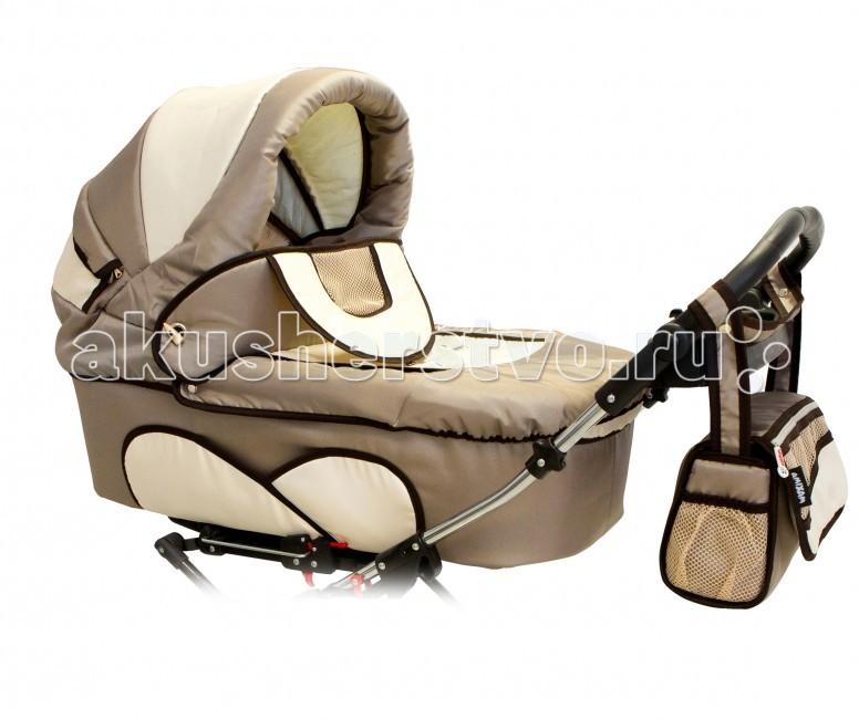 Детские коляски , Коляски для двойни и погодок Reindeer Коляска для двойни Twin с конвертом 2 в 1 арт: 51411 -  Коляски для двойни и погодок
