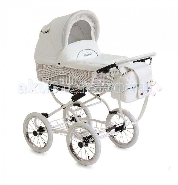 Детские коляски , Коляски-люльки Reindeer Prestige Wiklina с конвертом арт: 51409 -  Коляски-люльки