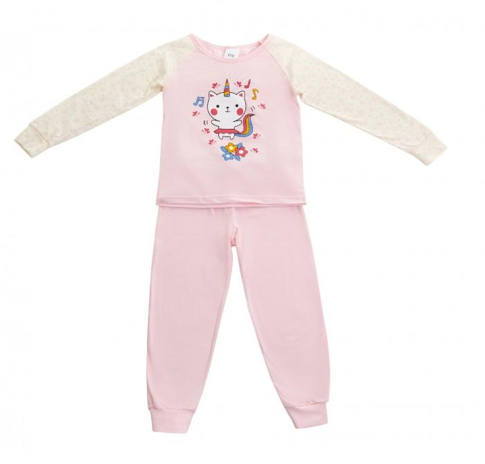 Купить Домашняя одежда, Repost Пижама для девочки (футболка длинный рукав, штаны)