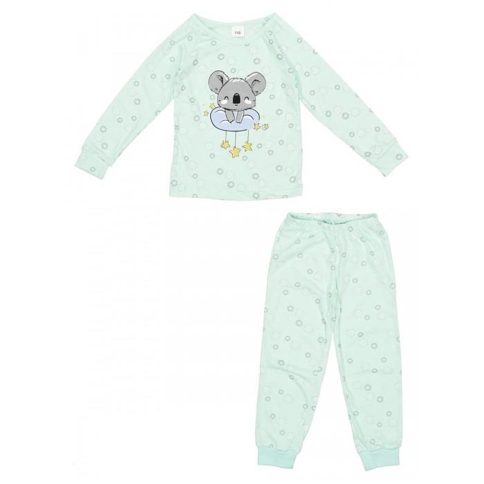 Купить Домашняя одежда, Repost Пижама для девочки Коала (лонгслив и брюки) ПЖк-Д0011