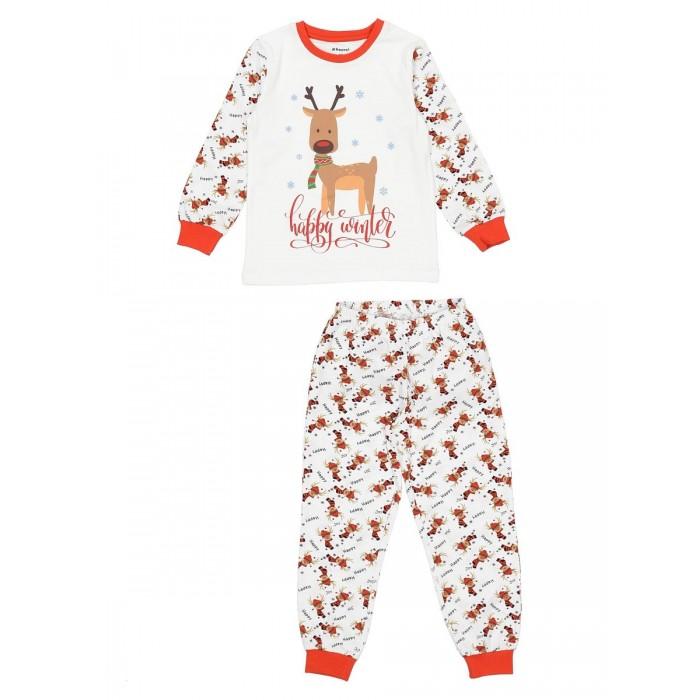 Домашняя одежда Repost Пижама для девочки (лонгслив и штаны) ПЖ-Д006