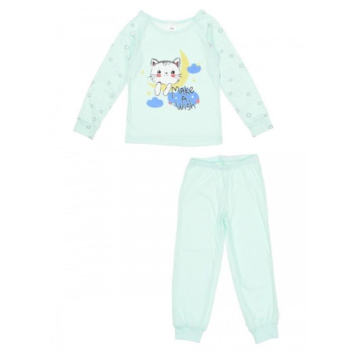 Купить Домашняя одежда, Repost Пижама для девочки Make a wish (лонгслив и брюки) ПЖк-Д0011
