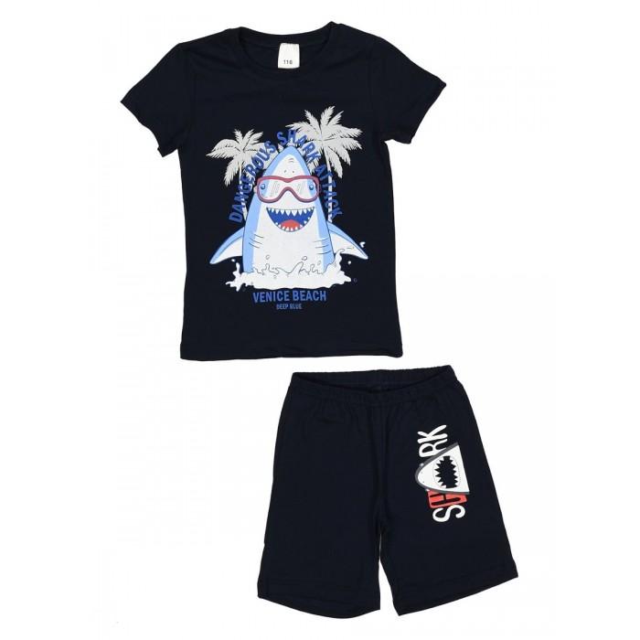 Фото - Домашняя одежда Repost Пижама для мальчика (футболка и шорты) ПЖк-М007 домашняя одежда mayoral newborn пижама для мальчика 2767