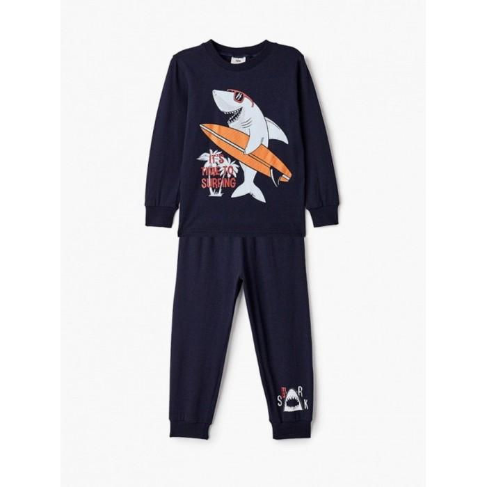 Фото - Домашняя одежда Repost Пижама для мальчика (лонгслив и брюки) ПЖ-М008 домашняя одежда mayoral newborn пижама для мальчика 2767