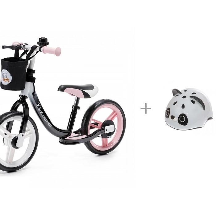 Купить Шлемы и защита, Rexco Шлем 3D с беговелом Kinderkraft Space