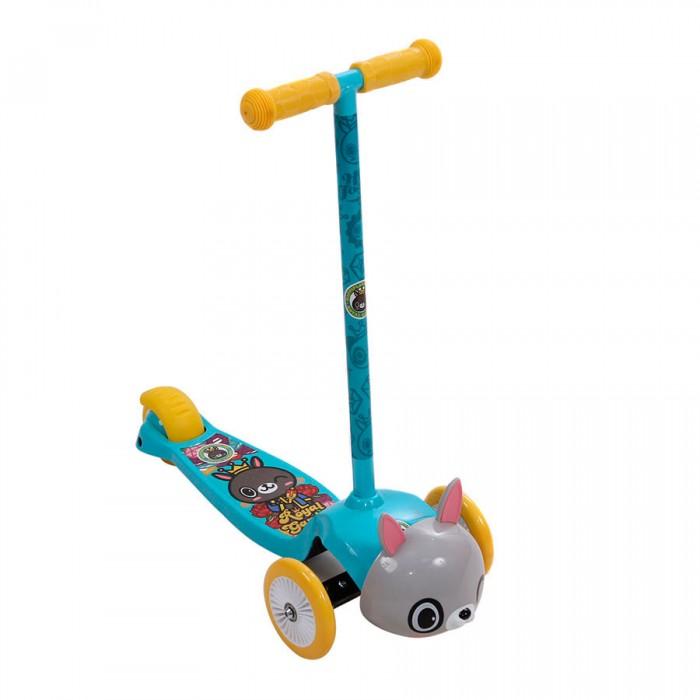 Трехколесные самокаты Rexco Животные трехколесные самокаты smart trike скутер ski z7