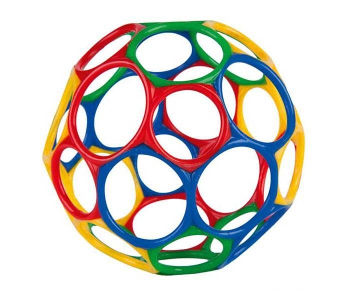 Развивающие игрушки Oball Мячик 10 см игрушки для ванной oball мячик с поплавком