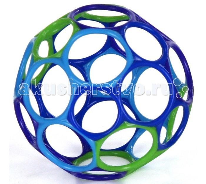 Развивающие игрушки Oball Мячик с погремушкой 81030 игрушки для ванной oball мячик с поплавком