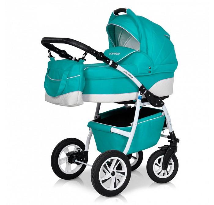 Коляска Rant Sonata 3 в 1Коляски 3 в 1<br>Коляска Рант Sonata 3 в 1 предназначена для детей с рождения и до 3-х лет. Многофункциональная транспортная система, обеспечивающая комфорт и безопасность на прогулках с Вашим ребенком.  Детская универсальная коляска изготовлена с использованием высококачественных легких дышащих текстильных материалов, имеет небольшой вес и отличную маневренность на дороге.  В комплект коляски входит автокресло 0+, спальная люлька для новорожденного и прогулочный блок для подросшего малыша, которые можно устанавливать по ходу движения или против хода движения. Люлька коляски комфортная и удобная, сделана внутри из 100 % хлопка. Дно люльки – жесткое, это очень важно для правильного формирования позвоночника новорожденного малыша.  Люлька: Непромокаемая тканевая люлька с элементами выполненными из перфорированной Эко кожи и жестким дном; Регулируемый по высоте подголовник; Вентилируемое смотровое окошко в капюшоне; Удобная ручка для переноски, расположенная на капюшоне; Регулируемый капюшон; Внутренняя вкладка выполнена из 100% хлопка, легко снимается для стирки; Возможность установки люльки в 2 положениях (лицом к маме, или лицом по направлению движения коляски). Размеры внутренние люльки: длина 76 см. ширина 37 см. высота 22 см. Вес: 4,73 кг.  Прогулочный блок: 3 положения регулировки спинки, в том числе до горизонтального; Регулируемая подножка; Регулируемый капюшон; Съемный бампер; Возможность установки прогулочного блока в 2 положениях (лицом к маме, или лицом по направлению движения коляски). Размеры прогулочного блока: ширина 36 см. длина 84 см. Вес: 4,3 кг.  Автокресло: Подходит детям с рождения до 13 кг Категория 0+ Фиксируется на раму через переходник, переходник в комплекте Отвечает всем стандартам безопасности Ребенок фиксируется в кресле трехточечным ремнем Кресло в автомобиле фиксируется против хода движения, штатным ремнем.  Шасси: Удобный и простой механизм складывания коляски Легкий и простой механизм снятия и установки съемны
