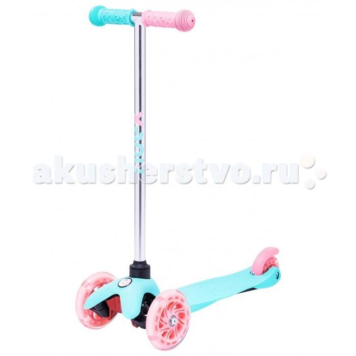 Детский транспорт , Трехколесные самокаты Ridex 3D Zippy 120/80 мм арт: 523706 -  Трехколесные самокаты