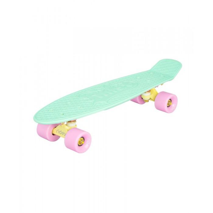 Детский транспорт , Скейтборды Ridex Круизер пластиковый 22x6 Abec-7 Chrome арт: 471986 -  Скейтборды