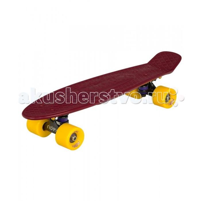 цены Скейтборды Ridex Круизер пластиковый 22x6 Abec-7 Chrome