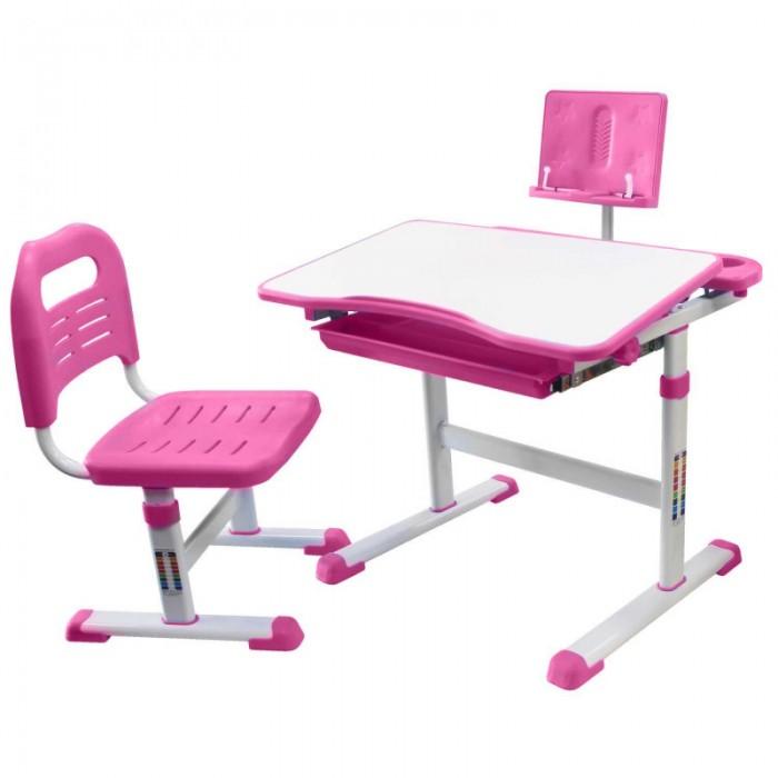 Картинка для Rifforma Парта с подставкой для книг и стул Set-17