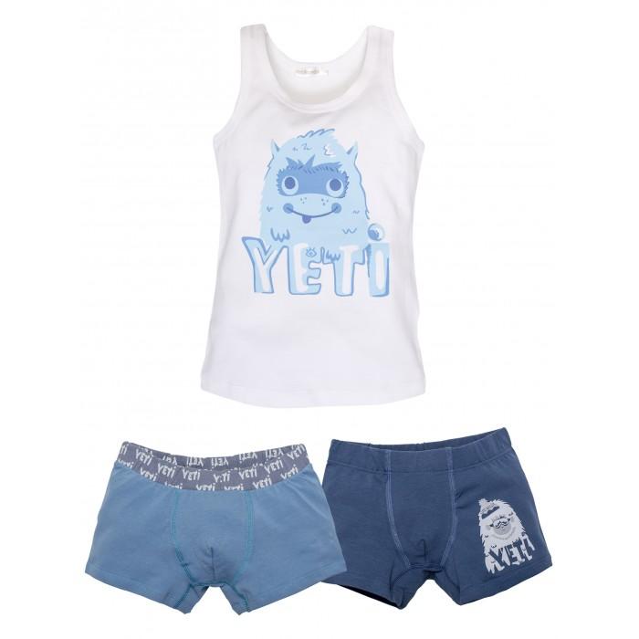Купить Белье и колготки, Rita Romani Комплект для мальчика (майка, трусы-боксеры) Yeti 1402