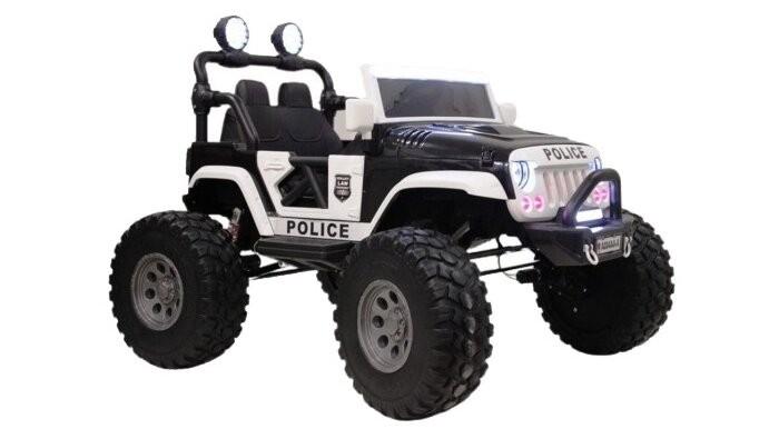 Купить Электромобили, Электромобиль RiverToys А004АА-А Police